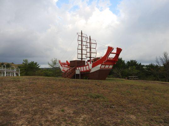 【2021フォトコン】西のはてに万葉の里に遣唐使船を訪ねて (五島 白良が浜万葉公園)@m_yamamiさん