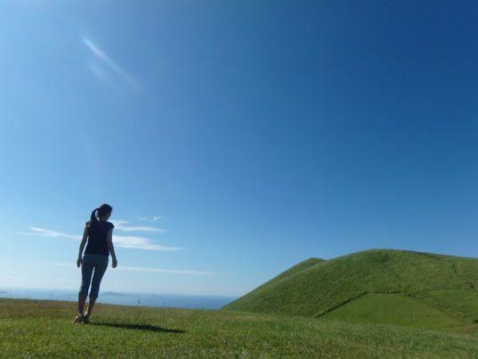 【2021フォトコン】五島の夏とわたし (五島 鬼岳)@mami1013tさん