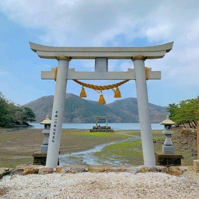 【2021フォトコン】雨上がりの和多都美神社 (対馬 和多都美神社)@junstagram.jpさん